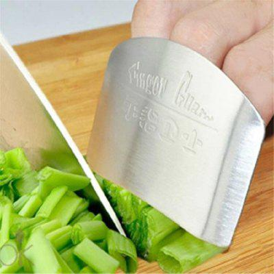Finger Guard Protect Hand Not To Hurt Cut Stainless Steel Hand Protector Knife Cutting Protection Tools