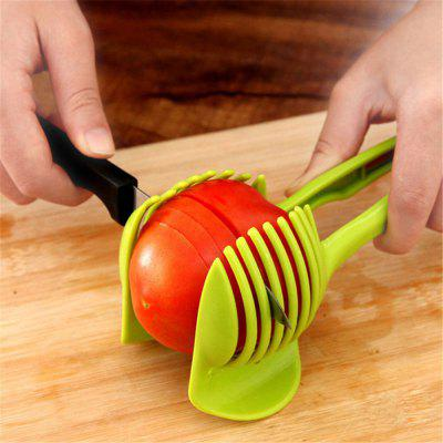 Plastic Potato Slicer Tomato Cutter Tool Lemon Cutting Holder Cooking Tools Kitchen Accessories