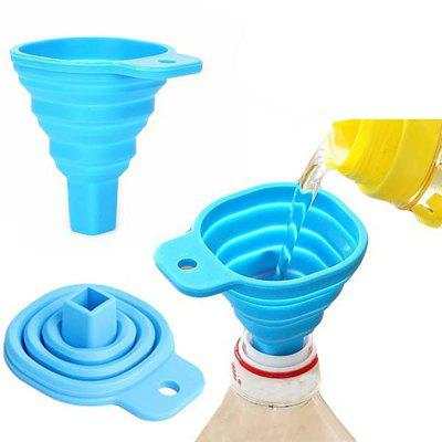 retractable funnels home kitchen funnel convenient storage - Kitchen Funnel