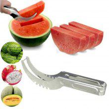 Watermelon Cutter Knife Cucumis Melon Cutter Chopper Fruit Salad Cucumber Vegetable Fruit Slicers Kitchen Cooking Tools