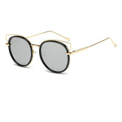 Color Film Outdoor Cat Eye Sunglasses
