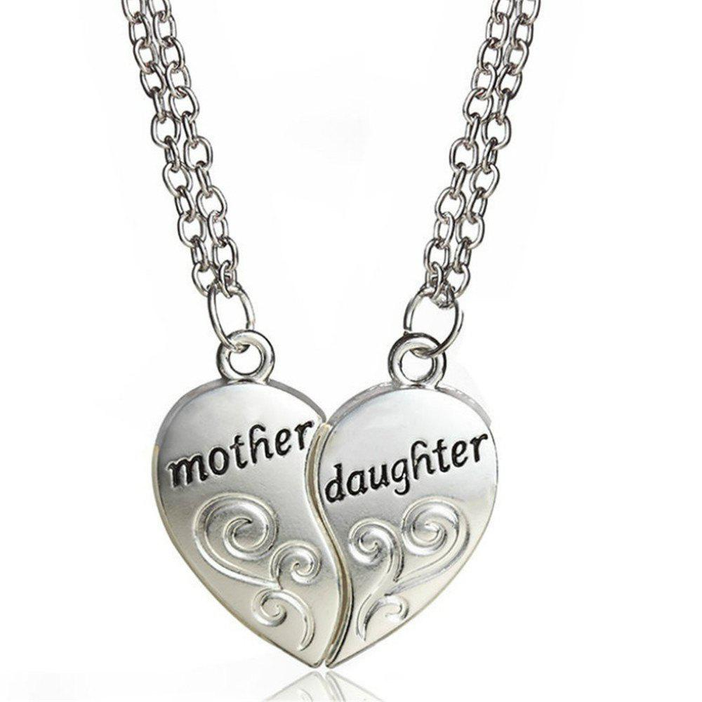 Popular Mother and Daughter Love ''Mom'' Necklace Mother'S Day Gifts For Mother