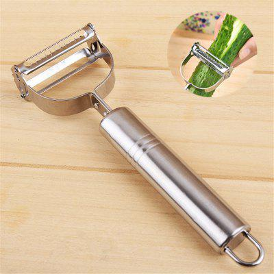 Stainless Steel Kitchen Multi-Purpose Gadgets PeelerKitchen Knives<br>Stainless Steel Kitchen Multi-Purpose Gadgets Peeler<br><br>Package Contents: 1 x Peeler<br>Package Size(L x W x H): 18.00 x 8.00 x 8.00 cm / 7.09 x 3.15 x 3.15 inches<br>Package weight: 0.0600 kg<br>Product Size(L x W x H): 17.00 x 5.50 x 2.20 cm / 6.69 x 2.17 x 0.87 inches<br>Product weight: 0.0500 kg