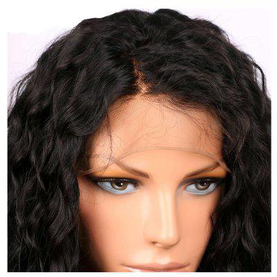 Long Curly Synthetic Lace Front Wigs Heat Resistant with Baby Hair