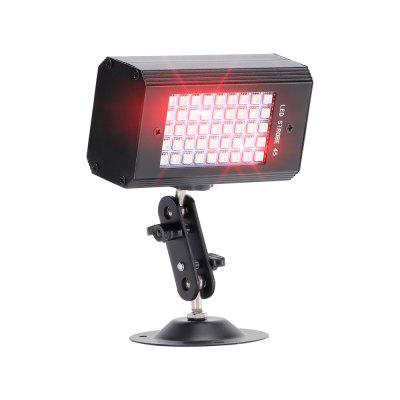 U'King ZQ-B227 RGB 3-in-1 Sound Activated 45 LED Strobe Light for Stage Effect Lighting