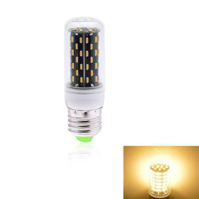 1PC 5W E27 500LM 76LEDS SMD4014 Decorative Segmented Dimmer LED Corn Light AC 220V