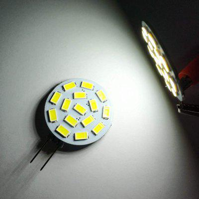 10PCS G4 4W LED Bi-Pin luces 15SMD 5730 350-400LM DC12V