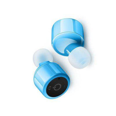 Bit Stereo True Wireless Earbuds w/ Charging Case Bluetooth Headphones  Smallest Cordless Hands-Free In-Ear Mini EarphoBluetooth Headphones<br>Bit Stereo True Wireless Earbuds w/ Charging Case Bluetooth Headphones  Smallest Cordless Hands-Free In-Ear Mini Earpho<br><br>Audio: Stereo<br>Bluetooth Version: 4.1<br>Package Contents: 1 x Bluetooth earphone<br>Package size (L x W x H): 10.00 x 5.00 x 1.00 cm / 3.94 x 1.97 x 0.39 inches<br>Package weight: 0.0200 kg<br>Usage mode: Earphone