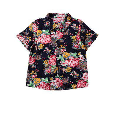 Kimoct Summer Boy Short-sleeved Floral Shirt Casual Trousers SuitBoys Clothing Sets<br>Kimoct Summer Boy Short-sleeved Floral Shirt Casual Trousers Suit<br><br>Brand: kimocat<br>Closure Type: Single Breasted<br>Collar: Turn-down Collar<br>Fabric Type: Broadcloth<br>Gender: Boy<br>Material: Cotton<br>Package Contents: 1 x Suit<br>Package size (L x W x H): 29.00 x 33.00 x 1.50 cm / 11.42 x 12.99 x 0.59 inches<br>Package weight: 0.2200 kg<br>Pattern Style: Print<br>Product weight: 0.2200 kg<br>Season: Summer<br>Sleeve Length: Short<br>Sleeve Style: Regular<br>Style: Han Edition<br>Thickness: Thin<br>Weight: 0.2871kg
