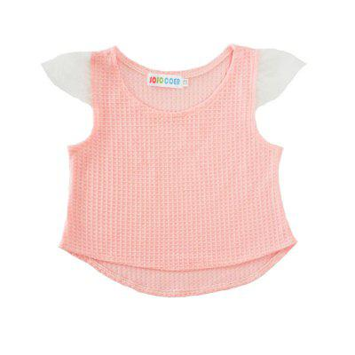 SOSOCOER Kids Girls Clothes Set Pink Grid Lace T-Shirts and Bow Tie Shorts Two Piece SuitGirls clothing sets<br>SOSOCOER Kids Girls Clothes Set Pink Grid Lace T-Shirts and Bow Tie Shorts Two Piece Suit<br><br>Brand: SOSOCOER<br>Collar: Round Neck<br>Material: Cotton, Polyester<br>Package Contents: 1 x T-shirt, 1 x Pair of Pants<br>Pattern Type: Plaid<br>Shirt Length: Regular<br>Sleeve Length: Sleeveless<br>Style: The Princess<br>Weight: 0.1400kg