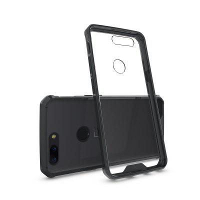 Transparent Surface Shockproof Back PC Case for OnePlus 5T