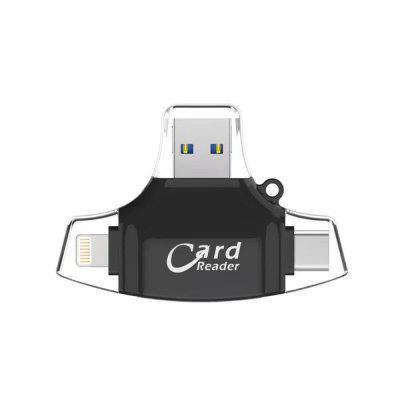 3 In 1 USB Card Reader Flash Drive High-speed USB2.0 Universal TF/SD Card