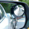 2pcs 360 Degrees Adjustable Car Small Round Mirrors Blind Spots Rearview Reverse Auxiliary Lens - BLACK