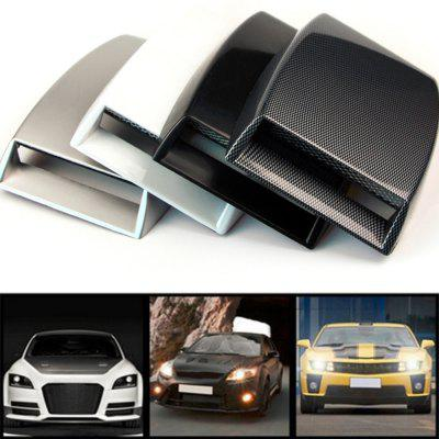 Universal Car Decorative Air Flow Intake Scoop Turbo Cover Vent Hood 1pc 40mm car motor cold air intake filter turbo vent crankcase breather air filter y05 c05 page 4