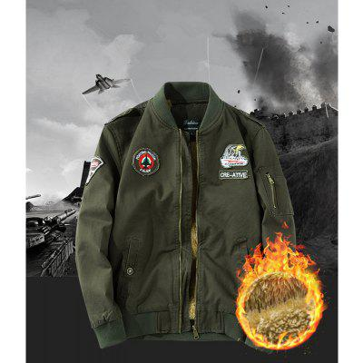 Mens Cotton Large Size Uniform JacketMens Jackets &amp; Coats<br>Mens Cotton Large Size Uniform Jacket<br><br>Clothes Type: Jackets<br>Collar: Stand Collar<br>Material: Cotton<br>Package Contents: 1 x Jacket<br>Season: Spring, Fall, Winter<br>Shirt Length: Regular<br>Sleeve Length: Long Sleeves<br>Style: Casual<br>Weight: 1.0000kg