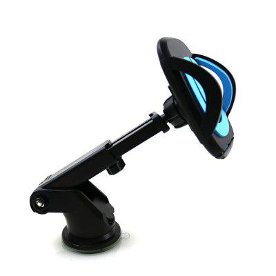 360 Degree Universal Car Mount Holder Windshield Dashboard Suction Cup Mobile Phone Stand for iPhone / Samsung / GPS baseus universal 360 degree magnetic car mount holder
