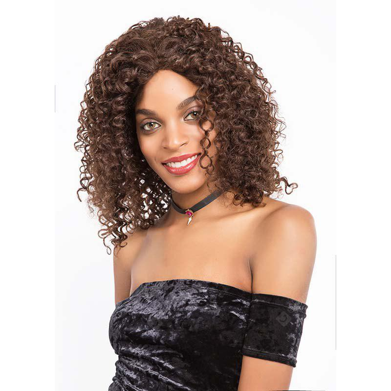 Remy Human Hair Lace Frotnal Wig Human Hair Wavy Mid-lenght Wig 16 Inch 9215
