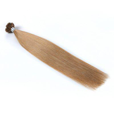 Light colors Straight U Tip Hair Extensions Remy Hair in fusion hair Extensions 100pcs/pack