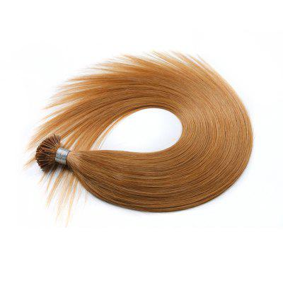 M.Light Colors Straight I Tip Hair Extensions Remy Hair in Fusion Hair Extensions 200pcs/pack