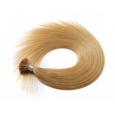 Light colors Straight I Tip Hair Extensions Remy Hair in fusion hair Extensions 200pcs/pack
