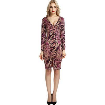 Fashion Women Long Sleeve Leopard Evening Cocktail Bodycon Party Mini DressBodycon Dresses<br>Fashion Women Long Sleeve Leopard Evening Cocktail Bodycon Party Mini Dress<br><br>Dresses Length: Knee-Length<br>Elasticity: Elastic<br>Fabric Type: Broadcloth<br>Material: Cotton, Polyester, Cotton Blend<br>Neckline: Round Collar<br>Package Contents: 1 xDress<br>Pattern Type: Others<br>Season: Winter, Fall, Spring, Summer<br>Silhouette: Asymmetrical<br>Sleeve Length: Long Sleeves<br>Style: Sexy &amp; Club<br>Waist: Natural<br>Weight: 0.2000kg<br>With Belt: No