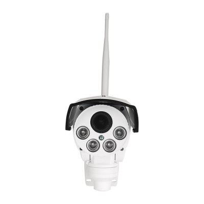 IPC - U1 1080P PTZ IP Camera Wireless WiFi Full HD Waterproof Outdoor Bullet CCTV Security H.264 2.8 - 12mm Auto FocusIP Cameras<br>IPC - U1 1080P PTZ IP Camera Wireless WiFi Full HD Waterproof Outdoor Bullet CCTV Security H.264 2.8 - 12mm Auto Focus<br><br>Compatible Operation Systems: Windows 7,Windows 8,Microsoft Windows 98/ ME /2000/ XP,Android,IOS<br>Features: HD<br>FOV: 90 degrees<br>Interface: TF Card Slot<br>IP camera performance: White Balance, Backlight Compensation, Night Vision, Motion Detection, Remote Control<br>Language: English,Simplified / TraditionalChinese<br>Local-storage: Micro SD card up to 64GB<br>Maximum Monitoring Range: 10<br>Mobile Access: iPad,Android,iPhone OS<br>Model: IPC-U1<br>Motion Detection Distance: 5<br>Operate Temperature (?): -10 - 50<br>Package Contents: 1 x Camera, 1 x English User Manual, 1 x Power adapter<br>Package size (L x W x H): 29.50 x 20.10 x 11.50 cm / 11.61 x 7.91 x 4.53 inches<br>Package weight: 1.5000 kg<br>Product size (L x W x H): 15.00 x 9.00 x 9.00 cm / 5.91 x 3.54 x 3.54 inches<br>Product weight: 0.8500 kg<br>Protocol: HTTP,SMTP,DHCP,DNS,DDNS,UPNP,TCP,IP<br>Resolution: 1920 ? 1080<br>Shape: Gun Camera<br>Technical Feature: Pan Tilt Zoom, Waterproof, WiFi<br>Video Compression Format: H.264<br>Video Resolution: 1080P<br>Waterproof: IP66<br>White Balance: Auto<br>WiFi Distance: 10<br>Wireless: WiFi 802.11 b/g/n<br>Working Voltage: 12V
