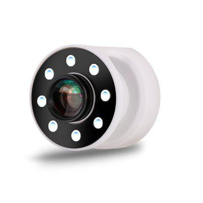 Mobile Phone Camera Airbag LED Hand Fill Light + 0.67 X Wide-angle + 10 X Macro 3 In 1 Cell Phone Lens