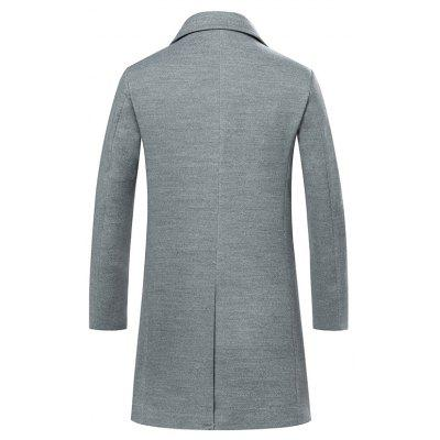 Medium Long Body Style CoatMens Jackets &amp; Coats<br>Medium Long Body Style Coat<br><br>Closure Type: Single Breasted<br>Clothes Type: Trench<br>Collar: Turn-down Collar<br>Color Style: Solid<br>Colors: Black,Gray,Army green,Cadetblue<br>Detachable Part: None<br>Fabric Type: Polyester<br>Hooded: No<br>Lining Material: Polyester<br>Materials: Cotton<br>Package Content: 1 ? Coat<br>Package size (L x W x H): 1.00 x 1.00 x 1.00 cm / 0.39 x 0.39 x 0.39 inches<br>Package weight: 0.4600 kg<br>Pattern Type: Others<br>Shirt Length: Long<br>Size1: M,L,XL,2XL,3XL<br>Sleeve Style: Regular<br>Style: Fashion<br>Technics: Other<br>Thickness: Medium thickness