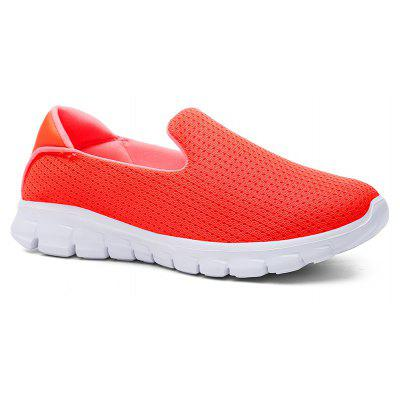 Fashion Slip On Mocassins Mesh Comfort Youth Mesdames Chaussures de marche
