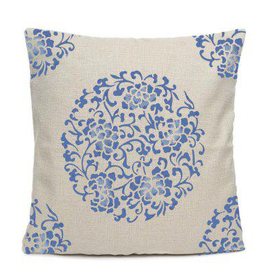 Chinese Style Blue And White Pattern Home Decoration Pillow Covers