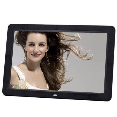 Digital Photo Frame 12 HD Large Screen Frame Video PlayerDigital Photo Frame<br>Digital Photo Frame 12 HD Large Screen Frame Video Player<br><br>Package Contents: 1 x Digital Photo Frame, 1 x Remote Control, 1 x Power Adapter,1 x Holder, 1 x User Manual (English)<br>Package size (L x W x H): 43.00 x 27.00 x 21.00 cm / 16.93 x 10.63 x 8.27 inches<br>Package weight: 1.7500 kg<br>Product weight: 0.9400 kg