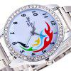 ZhouLianFa Top Brand Luxury Women'S Silver Band Diamond Movement Quartz Watc - SILVER