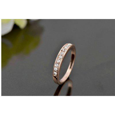 Fashion White Gold Color TOP Class Small Rhinestones Mosaic Eternity Band Wedding Ring JewelryRings<br>Fashion White Gold Color TOP Class Small Rhinestones Mosaic Eternity Band Wedding Ring Jewelry<br><br>Gender: For Women<br>Metal Type: Alloy<br>Occasion: Engagement<br>Package Content: 1 x Ring, 1 x box<br>Package size (L x W x H): 4.00 x 4.00 x 4.00 cm / 1.57 x 1.57 x 1.57 inches<br>Package weight: 0.0200 kg<br>Ring Size (US Size): 7,6,8,9<br>Setting Type: Prong Setting<br>Shape/Pattern: Round<br>Stone Color: Transparent<br>Style: Romantic<br>Surface Plating: 18K Gold Plated