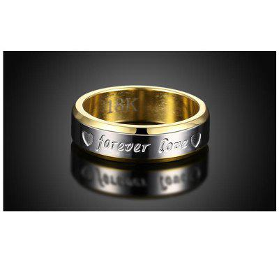 Fashion Gold Plated Sweety Heart Forever Love Lettering Band Wedding Ring Jewelry for WomenRings<br>Fashion Gold Plated Sweety Heart Forever Love Lettering Band Wedding Ring Jewelry for Women<br><br>Gender: For Women<br>Metal Type: Gold Plated<br>Occasion: Engagement<br>Package Content: 1 x Ring, 1 x box<br>Package size (L x W x H): 4.00 x 4.00 x 4.00 cm / 1.57 x 1.57 x 1.57 inches<br>Package weight: 0.0200 kg<br>Ring Size (US Size): 7,6,8,10,9<br>Ring Width: 0.6cm<br>Setting Type: None<br>Shape/Pattern: Heart<br>Style: Romantic