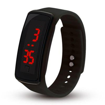 Silicone LED Digital Creative Touch Screen Sport Watch Bracelet