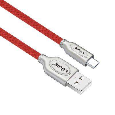 LUJIE Micro USB Cable Quick Charging Cables 1M with Fabrics and Lace + Zinc Alloy ShellChargers &amp; Cables<br>LUJIE Micro USB Cable Quick Charging Cables 1M with Fabrics and Lace + Zinc Alloy Shell<br><br>Accessories type: Cable<br>Cable Length (cm): 100<br>Color: Black,Blue,Red<br>Interface Type: Micro USB, USB 2.0<br>Mainly Compatible with: HTC, Xiaomi, Sony, MEIZU, LG, Letv, Lenovo, HUAWEI, Nokia<br>Material: PVC, Metal<br>Material ( Cable&amp;Adapter): Zinc Alloy, PVC, Fabric<br>Package Contents: 1 x Cable<br>Package size (L x W x H): 18.50 x 12.50 x 1.00 cm / 7.28 x 4.92 x 0.39 inches<br>Package weight: 0.0330 kg<br>Product weight: 0.0290 kg<br>Type: Cable