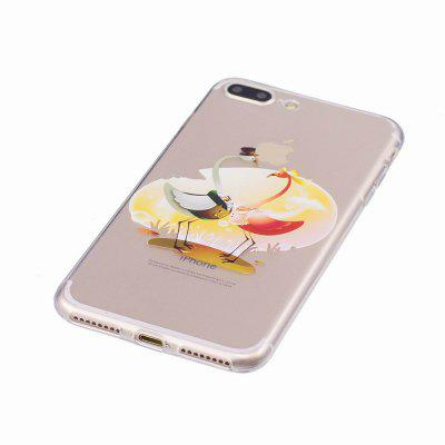 Ultra thin Soft TPU Cases For iPhone 7 Plus/8 Plus Crystal Silicone Shockproof Original Fundas Shell AccessoriesiPhone Cases/Covers<br>Ultra thin Soft TPU Cases For iPhone 7 Plus/8 Plus Crystal Silicone Shockproof Original Fundas Shell Accessories<br><br>Compatible for Apple: iPhone 7 Plus, iPhone 8 Plus<br>Features: Button Protector, Anti-knock<br>Material: TPU<br>Package Contents: 1 x Phone Case<br>Package size (L x W x H): 7.00 x 18.00 x 0.80 cm / 2.76 x 7.09 x 0.31 inches<br>Package weight: 0.0200 kg<br>Style: Novelty, Cartoon, Transparent, Sweet