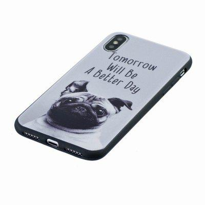 Marble Vein Soft Phone Back Cover Case For iPhone X Anti-Knock Personality CaseiPhone Cases/Covers<br>Marble Vein Soft Phone Back Cover Case For iPhone X Anti-Knock Personality Case<br><br>Compatible for Apple: iPhone X<br>Features: Button Protector, Anti-knock, FullBody Cases<br>Material: TPU<br>Package Contents: 1 x Phone Case<br>Package size (L x W x H): 9.00 x 18.00 x 0.80 cm / 3.54 x 7.09 x 0.31 inches<br>Package weight: 0.0200 kg<br>Style: Novelty, Pattern, Cartoon, Animal