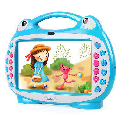 NuKied Touch Screen Children Video Learning Machine 16GOther Educational Toys<br>NuKied Touch Screen Children Video Learning Machine 16G<br><br>Age: 2-4 Years<br>Available Color: Pink,Blue<br>Features: Educational, Musical<br>Material: Electronic Components, Plastic, ABS<br>Package Contents: 1 x Video Machine, 1 x Microphone<br>Package size (L x W x H): 36.00 x 10.50 x 25.00 cm / 14.17 x 4.13 x 9.84 inches<br>Package weight: 1.4600 kg<br>Product weight: 1.3600 kg<br>Type: Learning Computers