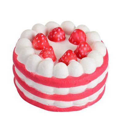 Jumbo Squishy Strawberry Cake Scented Super Slow Rising ToySquishy toys<br>Jumbo Squishy Strawberry Cake Scented Super Slow Rising Toy<br><br>Age Range: &gt; 3 years old<br>Materials: PU<br>Package Content: 1 x Slow Rising Toy<br>Package Dimension: 9.00 x 6.00 x 1.50 cm / 3.54 x 2.36 x 0.59 inches<br>Products Type: Toy