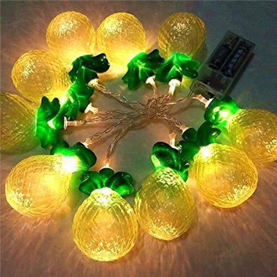 Pineapple Battery Powered 10LEDs Fariry Lights String