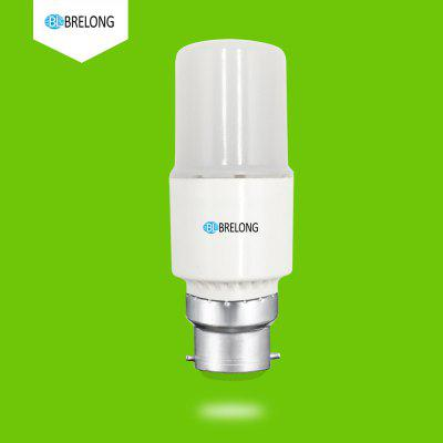 BRELONG B22 7W 7LEDs Corn Light Bulb  AC85-265V 1PCCorn Bulbs<br>BRELONG B22 7W 7LEDs Corn Light Bulb  AC85-265V 1PC<br><br>Brand: BRELONG<br>Color Temperature or Wavelength: 3000-3500  6000-6500<br>Connection: B22<br>Dimmable: No<br>Features: Light Control<br>Initial Lumens ( lm ): 200<br>LED Beam Angle: 360 Degree<br>LED Quantity: 7<br>Lifetime ( h ): More Than  30000<br>Light Source Color: Warm White,White<br>Material: PC<br>Package Contents: 1 x LED  Corn Light<br>Package size (L x W x H): 11.00 x 4.00 x 4.00 cm / 4.33 x 1.57 x 1.57 inches<br>Package weight: 0.0810 kg<br>Primary Application: Bedroom,Children Room,Childrens Room,Everyday Use,Home Decoration,Home or Office,Living Room,Living Room or Dining Room,Residential<br>Product size (L x W x H): 10.50 x 3.80 x 3.80 cm / 4.13 x 1.5 x 1.5 inches<br>Product weight: 0.0650 kg<br>Type: LED Corn Lights<br>Voltage: 85-265V<br>Wattage: 7W