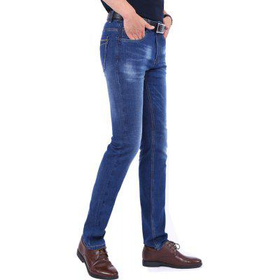 Business Casual Zipper Repair JeansMens Pants<br>Business Casual Zipper Repair Jeans<br><br>Closure Type: Zipper Fly<br>Color: Blue<br>Elasticity: Micro-elastic<br>Fabric Type: Broadcloth<br>Fit Type: Regular<br>Length: Normal<br>Material: Jeans<br>Package Contents: 1xJeans<br>Package size (L x W x H): 1.00 x 1.00 x 1.00 cm / 0.39 x 0.39 x 0.39 inches<br>Package weight: 0.6300 kg<br>Pant Style: Straight<br>Pattern Type: Solid<br>Style: Casual<br>Thickness: Standard<br>Waist Type: Mid<br>Wash: Dark<br>With Belt: No