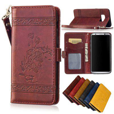 for Samsung Galaxy S8 PLUS Case Cover Embossed Oil Wax Lines Phone Case Cover PU Leather Wallet Style CaseSamsung S Series<br>for Samsung Galaxy S8 PLUS Case Cover Embossed Oil Wax Lines Phone Case Cover PU Leather Wallet Style Case<br><br>Color: Black,Red,Blue,Brown,Gold,Wine red<br>Compatible with: Samsung Galaxy S8 Plus<br>Features: Dirt-resistant, Anti-knock, With Lanyard, With Credit Card Holder, Cases with Stand, Full Body Cases<br>For: Samsung Mobile Phone<br>Material: PU Leather, TPU<br>Package Contents: 1 x Phone Case<br>Package size (L x W x H): 16.30 x 8.30 x 1.50 cm / 6.42 x 3.27 x 0.59 inches<br>Package weight: 0.0750 kg<br>Style: Vintage, Novelty, Special Design, Cool, Funny, Retro, Floral, Fashion