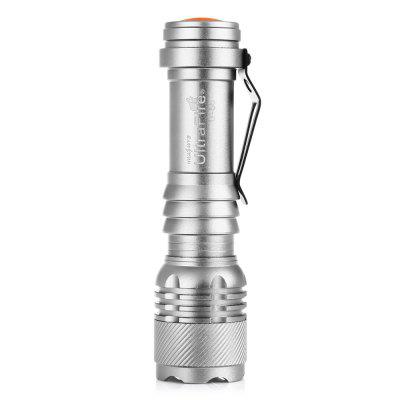 UltraFire U-58 XP-E 389LM 3-Step Compact Retractable Focus Flashlight SetLED Flashlights<br>UltraFire U-58 XP-E 389LM 3-Step Compact Retractable Focus Flashlight Set<br><br>Available Light Color: Cool White<br>Battery Included or Not: Yes<br>Battery Quantity: 1<br>Battery Type: 14500<br>Beam Distance: 50-100m<br>Body Material: Aluminium Alloy<br>Brand: Ultrafire<br>Charger Input Voltage: AC 100 -240V<br>Charger Output Voltage: 3.7V<br>Color: Silver,Black<br>Color Temperature: 6500-7000K<br>Emitters: Cree XP-E<br>Emitters Quantity: 1<br>Feature: Adjustable focus, Pocket Clip<br>Flashlight size: Small<br>Flashlight Type: Safety<br>Function: Search, EDC, Seeking Survival, Exploring, Work, Household Use<br>Light color: Cool White<br>Lumens Range: 200-500Lumens<br>Luminous Flux: 389LM<br>Mode: 3 (High &gt; Low &gt; SOS)<br>Mode Memory: No<br>Model: U-58<br>Package Contents: 1 x UltraFire U-58 Flashlight, 1 x 14500 Battery, 1 x US Charger, 1 x Waterproof Box<br>Package size (L x W x H): 13.00 x 8.60 x 3.80 cm / 5.12 x 3.39 x 1.5 inches<br>Package weight: 0.1460 kg<br>Power Source: Battery,Battery,AC Charger<br>Product size (L x W x H): 9.00 x 2.30 x 2.30 cm / 3.54 x 0.91 x 0.91 inches<br>Product weight: 0.0930 kg<br>Rechargeable: Yes<br>Switch Location: Tail Cap<br>Waterproof Standard: IPX-4 Standard Water-resistant<br>Working Voltage: 3.7V<br>Zooming Function: Yes