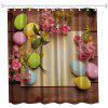 Acacia Eggs Polyester Shower Curtain Bathroom Curtain High Definition 3D Printing Water-Proof - COLORMIX