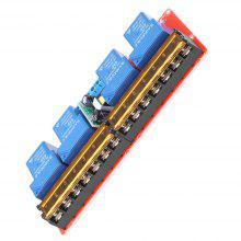 AC 100-250V 30A 4 Channel Relay High Low Level Trigger Module