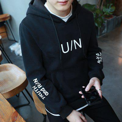 Spring Casual Fashion Handsome Long Sleeved Cotton HoodieMens Hoodies &amp; Sweatshirts<br>Spring Casual Fashion Handsome Long Sleeved Cotton Hoodie<br><br>Material: Cotton, Polyester<br>Package Contents: 1xHoodie<br>Shirt Length: Regular<br>Sleeve Length: Full<br>Style: Fashion<br>Weight: 0.6000kg