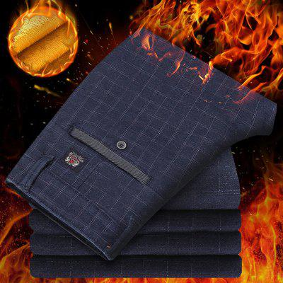Daifansen The New Thick and Velvet Plaid in Winter To Show Thin Mens Casual PantsMens Pants<br>Daifansen The New Thick and Velvet Plaid in Winter To Show Thin Mens Casual Pants<br><br>Closure Type: Zipper Fly<br>Fit Type: Straight<br>Front Style: Flat<br>Material: Cotton<br>Package Contents: 1 x pant<br>Pant Length: Long Pants<br>Pant Style: Straight<br>Style: Casual<br>Waist Type: Mid<br>Weight: 0.4000kg