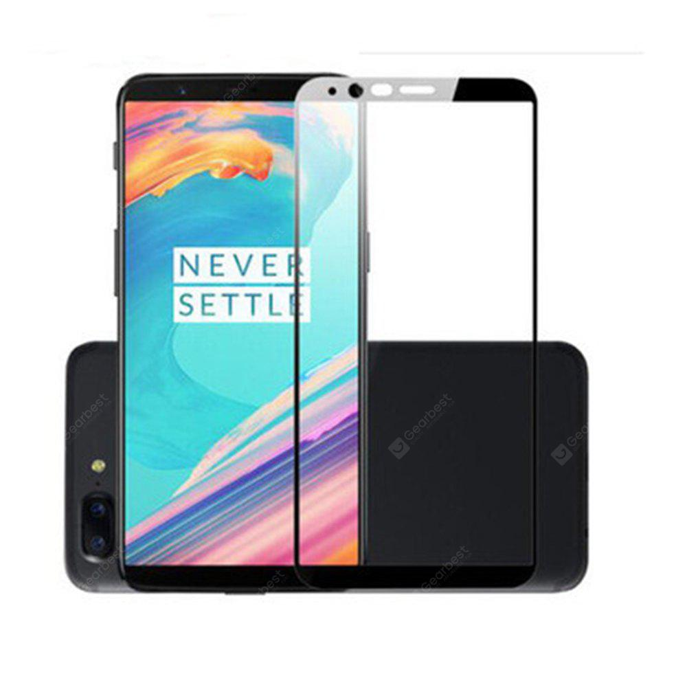 For One plus 5T Glass Full Screen Protector Glass